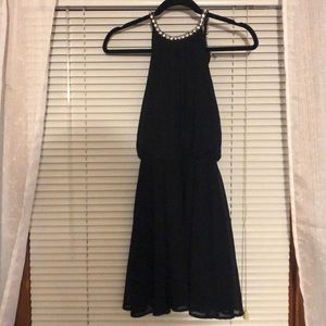 Macy's Diamond halter neck dress
